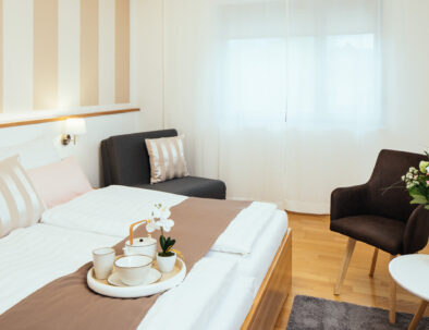 Premiumzimmer in der Pension Auszeit in Velden am Wörthersee